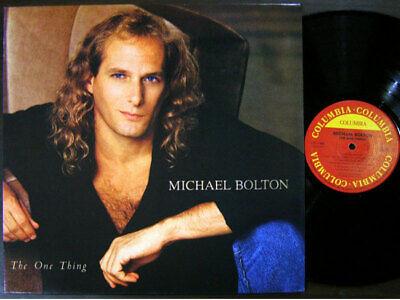 Michael Bolton - The One Thing [ 1993 Korea Orig 1st Vinyl ] EX w/Insert