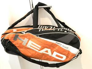 """Head Tour Team 6 racquet bag with  """"Climate ControlTechnology"""""""