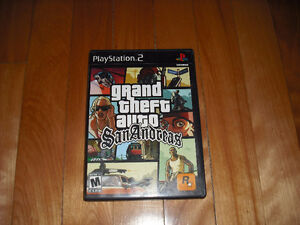 Grand Theft Auto San Andreas Complet Playstation 2