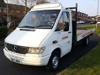 Mercedes-Benz Sprinter 312 D 2.9TD + LWB + FLAT BED (3.5 TON)