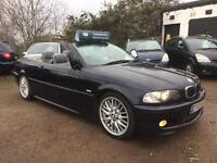 2003 BMW 330 3.0Ci Sport Convertible-2KEYS-LEATHER-XENONS