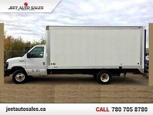 2011 Ford Econoline Commercial Cutaway E-450 16FT CUBE VAN GAS