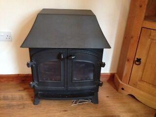 For sale gas log burner effect fire