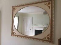 Ornate mirror very good condition