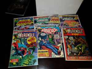 Box of old horror comics! DC, Marvel, Charleston... and misc.