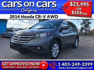 2014 Honda CR-V EX AWD w/Sunroof, BackUp Cam $159B/W INSTANT APP