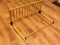 Pine bed guard