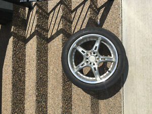 Four 205/50R17 Summer Tires plus Rims