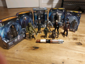Dr Who figures