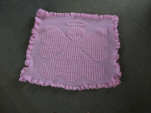Angel afghan for baby
