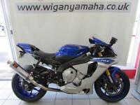 YAMAHA YZF-R1, 15 REG 6756 MILES, TAIL TIDY, SEAT COWL, BLACK WIDOW AND DE-CAT..