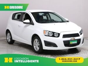 2013 Chevrolet Sonic LT AUTO A/C GR ELECT MAGS