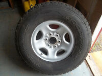 GM Truck Tire and Rim
