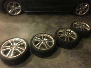 Audi S4 Rims and Tires