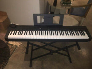 Yamaha piano P105 with Stand, Pedal, seat (88 keys)