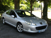 Peugeot 407 1.6HDi Sport**One Owner From New**Genuine 49,000 Miles**Sat Nav**FSH