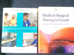 Nursing degree texbooks
