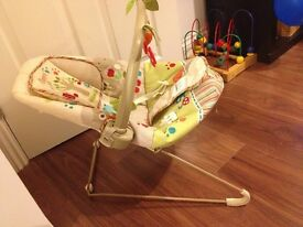 FISHER PRICE BABY BOUNCER CHAIR Calming vibrations - excl condition
