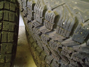 4-185-65R-14 Firestone Winter Tires for sale Stratford Kitchener Area image 4