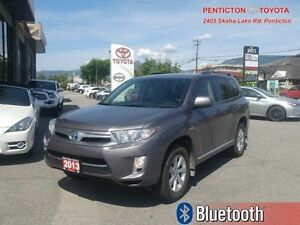 2013 Toyota Highlander Hybrid 4DR 4WD  - BACKUP CAMERA -  BLUETO