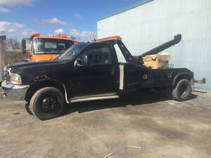 Ford F-550 1999 towing wheel lift 7,3 diesel + boom telescopique