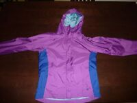 Like New Girl Columbia Rain jacket\windbreaker size 14-16