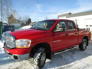 2006 Dodge Power Ram Diesel 2500 Quad Pickup Truck