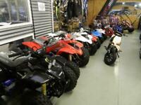 SLAM dirt bikes - QUADZILLA quads 50cc- QZR80cc - R100cc - off road childs ATVs