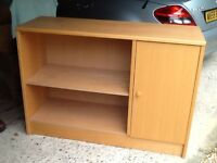 Bookcase with cupboard