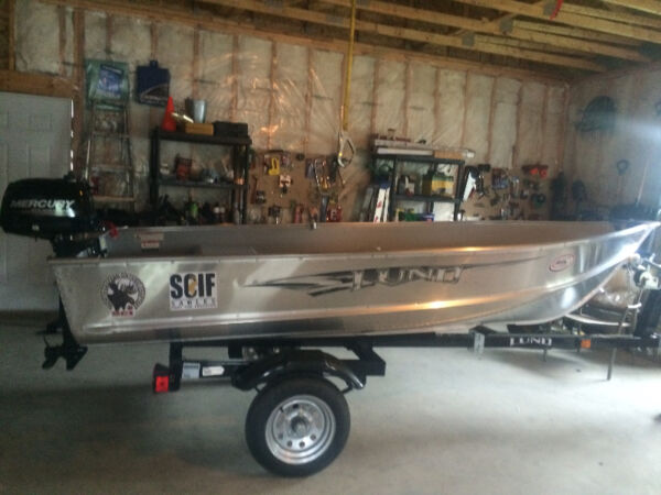 Used 2015 Lund Boat Co 12 foot aluminum