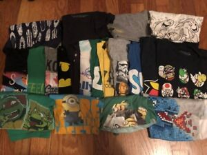 Size 7 Boys Brand Name Clothing Lot - entire wardrobe