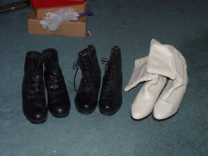 WOMENS LEATHER BOOTS.............for sale