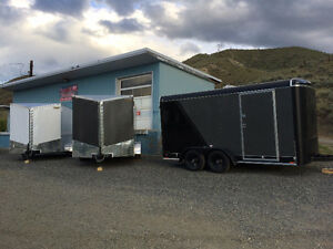 NEW Continental Cargo 7x14 Trailers Barn or Ramp doors options!