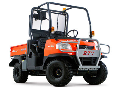 Kubota RTV900 Diesel Utility Vehicle Service Repair & Parts Manual