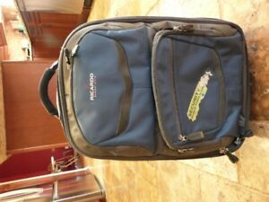 Roller Bag, Pull Bar, Backpack Style Luggage with laptop sleeve