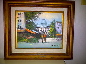Vintage Original Oil Paintings by Rimong and Engle