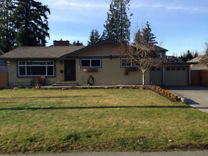 Renovated & Furnished 5 bdrm Home in central Abbotsford