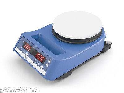 New Ika Rh Digital White Hotplate Stirrer 100-2000rpm 50-360c Max 15lt 4678001