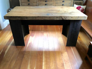 Industrial Style Custom Made Metal Table Base