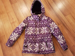 Girls winter jacket  from Sears size small 7/8