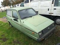 Reliant RIALTO GLS ESTATE - Robin - SPARES OR REPAIR* Good Investment or project
