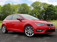 SEAT Leon 1.4 EcoTSI FR (Tech Pack) SportCoupe 3dr (start/stop) (red) 2016