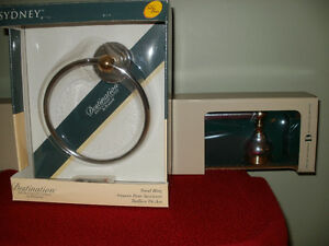 """New Monticello 24"""" Towel Ring Only"""