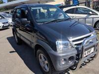 Daihatsu Terios 1.3 Tracker 5 DOOR - 2005 55-REG - 9 MONTHS MOT
