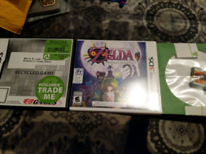 3DS games for sale.