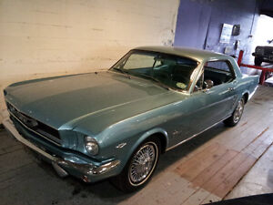 mint 1966 Mustang coupe
