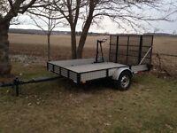 7'x10' utility trailer