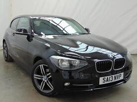 2013 BMW 1 Series 116I SPORT Petrol black Manual