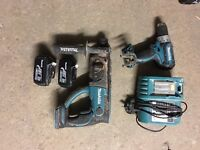 Makita 18v sds and combi drill set