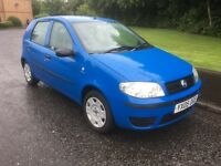 Fiat punto 1.2 full mot 58000 Mls 2 lady owners drives faultless